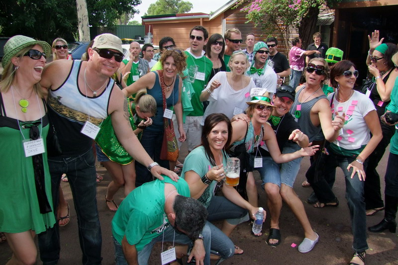 Irish Day with 'Perth Party Bus'